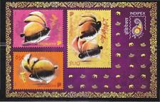 SINGAPORE 2011 INDIA INDIPEX 2011 STAMP EXHIBITION SOUVENIR SHEET 3 STAMPS MINT