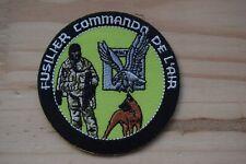 Patch écusson insigne militaire Armée Française Fusilier Commando de l'Air