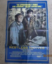 Restless Natives Original Folded Movie Poster Scotland Scottish Michael Hoffman