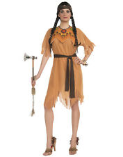 Native American Indian Maiden Pocahontas Adult Womens Costume-Std