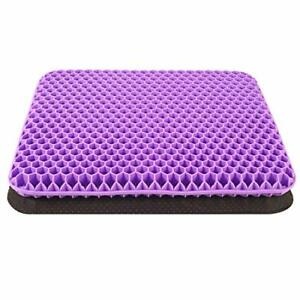 Yajuhoy Gel Seat Cushion, Double Thick Gel Cushion for Long Sitting with