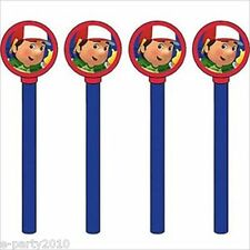 HANDY MANNY PENCILS w/ TOPPERS (4) ~ Birthday Party Supplies Favors Stationery