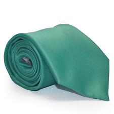 Mens Jade Green Wedding Business Tie