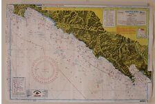 blocco n°5 carte Nauticard da pesca e navigazione costiera, scala 1:100.000