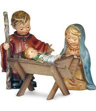 Hummel Children's Nativity Set Mary Joseph Jesus , Stable & Base 162342  NIB