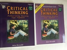 Critical Thinking: book 1 text and instruction/answer guide : Problem Solving,
