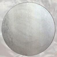 "1"" Steel Plate Round Circle Disc 3"" Diameter A36 Steel"