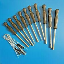 Carburettor Adjusting & Cleaning Tool Kit Fit Honda Briggs Walbro Tillotson Zama