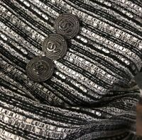 Buttons cc logo Chanel 6 Pieces 25 mm