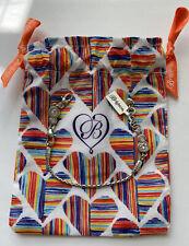 Brighton Infinity Sparkle Amulet Charm Tassel Elphie Diva Bracelet Nes