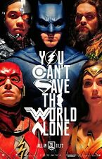 "Justice League (11"" x 17"") Movie Collector's Poster Print (T10) - B2G1F"