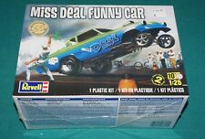 Miss Deal Funny Car Revell 1/25 Factory Sealed.