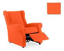 Funda de sillon relax Minerva Naranja