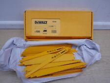 100 x DEWALT DT2349 bi-metallo legno destinatari LAME 228MM BOSCH S1111VF DT2320