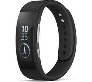 Sony SmartBand Talk SWR30 Smartwatch Armband Fitness Schwarz Neu in OVP
