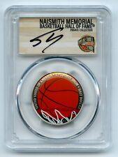 2020 S 50C Colorized Basketball Commemorative PCGS PR70DCAM FDI Shaquille O'Neal