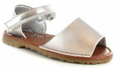 Calzado de niña sandalias sin marca de plata