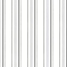 BW28751 Black White Silver Grey Pin Striped Wallpaper