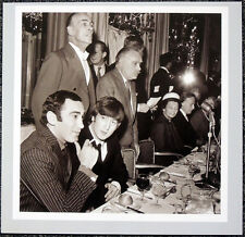 THE BEATLES POSTER PAGE 1964 JOHN LENNON & LIONEL BART FOYLES LITERARY LUNCH H40