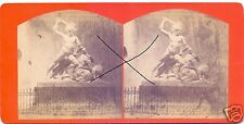 19549/ Stereofoto 9x17,5cm, Oskar Kramer, Wien, Theseustempel , ca. 1870