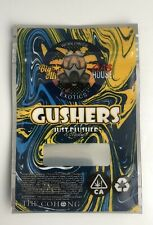 GUSHERS GAS HOUSE Mylar Resealable 3.5g Packaging((EMPTY BAGS)) (25 pack)