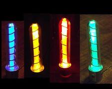 Steampunk Glowing Light up Tesla Tube - Mad Scientist Vacuum Tube Prop