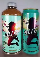 ALITA BATTLE ANGEL LIMITED EDITION COLLECTABLE GREEN TEA BOTTLE & CAN