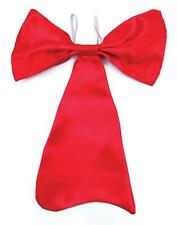 Large Red Bow Tie Fancy Dress Accessories Clown Oversized