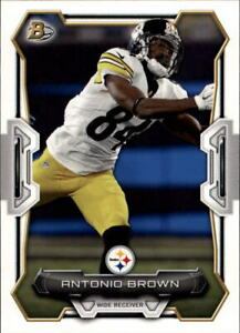 2015 Bowman Football Card #V90 Antonio Brown