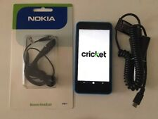 Nokia Lumia 635 - 8GB (Cricket) Smartphone, car charger