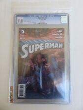 "DC, SUPERMAN #32 ""Romita Jr. Variant Cover"" CGC Grade 9.8 NM / MINT  1 for 100"