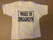 "Rabbit Skins Custom ""Made In Brooklyn"" T-shirt Size 4 - New! (No Tags) Rare!"