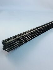 Atlas N Scale Flex Track #2500 Code 80 Black ties (5 pieces) New FREE SHIPPING