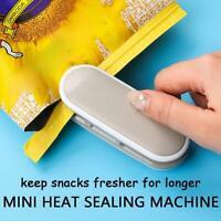 Portable Mini Sealing Machine Food Storage Plastic Bag Hand Held Heat Sealer  AU