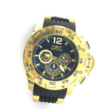 Invicta 26407 Pro Diver Chronograph Stainless Silicone Band Quartz Analog Watch