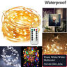 5/10/20M LED Copper Wire Fairy String Light Wedding Xmas Party W/ Remote Control