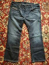 Diesel Zatiny 00N73 Regular Bootcut Button Fly Jeans Size 34 X 30