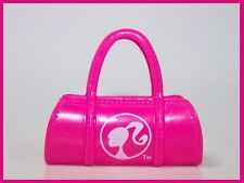 Barbie My Scene Monster High Plastic Doll Handbag Purse Pink with Barbie Logo