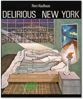 Delirious New York - Signed by Rem Koolhaas on paper sheet - Pritzker Winner