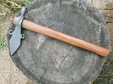 Vtg Spontoon Tomahawk Pipe Ax Hatchet Native Ndn Powwow Regalia 18th 19th C