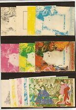 EQUATORIAL GUINEA-2 different cat theme progressive proofs ( souvenir sheets)