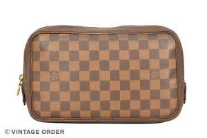 Louis Vuitton Monogram Trousse Toilette 25 Cosmetic Bag N47624 - YH00041