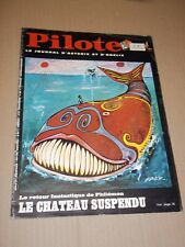 """PILOTE no 487"" (1969) ASTERIX / PILOTORAMA - LES CARAÏBES / REISER / FRED"