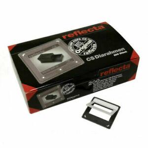 REFLECTA CS II 24MM X 36MM GLASSLESS 35MM SLIDE MOUNTS BOX OF 200