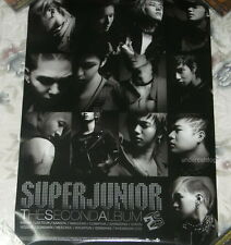 Korean IDOL Super Junior Vol.2 Don't Don Taiwan Promo Poster