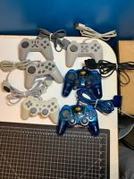 Six (6) Playstation 1 (PS1) Controllers - All Tested and Working