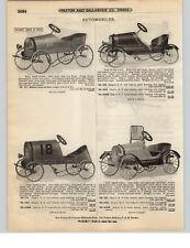 1921 PAPER AD Stutz Dodge Kid's Pedal Car Racer Buick Lights Windshield
