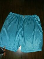 Vintage Gillian & O'Malley Tap Panties Shorts Size XL Second skin baby blue
