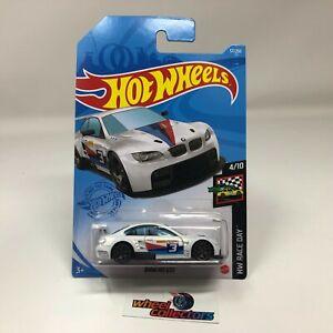 BMW M3 GT2 #57 * White * 2021 Hot Wheels Case H * HG11
