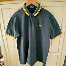 FRED PERRY BLACK POLO SHIRT SIZE XXL